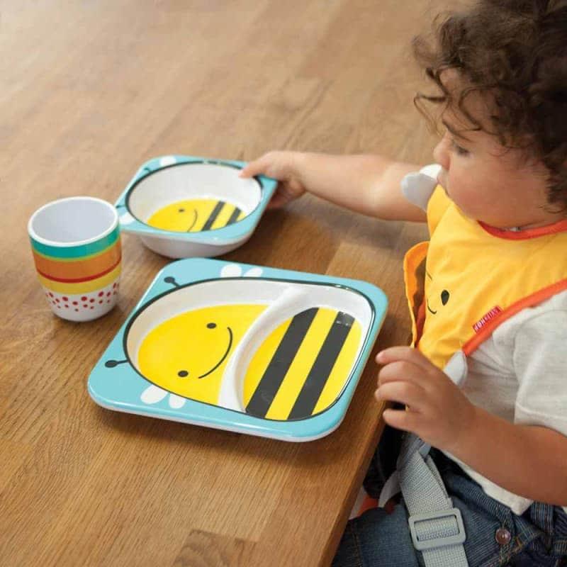 """Набор тарелок """"Пчёлка"""", Skip Hop"""
