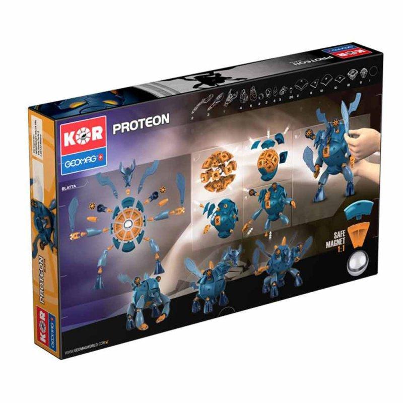 """Магнитный конструктор """"Proteon Blatta"""" 103 детали, Geomag"""