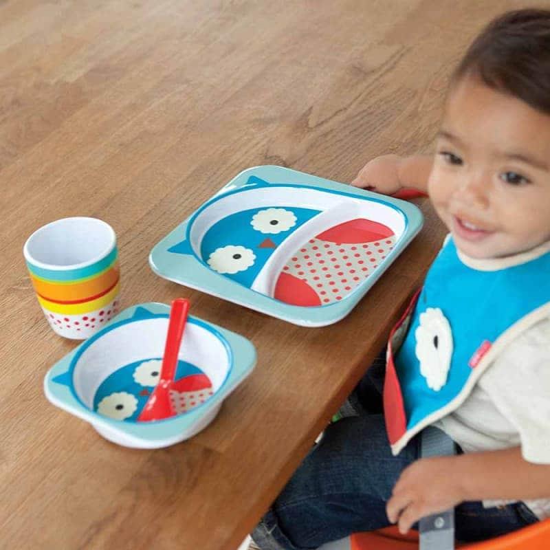 "Набор тарелок ""Совёнок"", Skip Hop"
