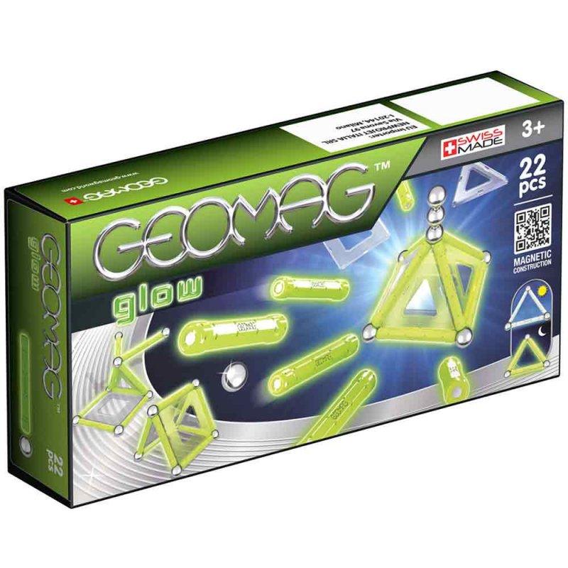 """Светящийся магнитный конструктор """"Glow"""", Geomag"""