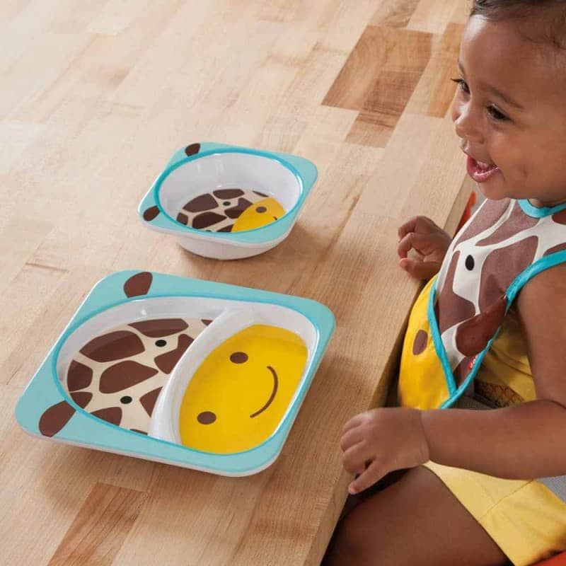 "Набор тарелок ""Жираф"", Skip Hop"