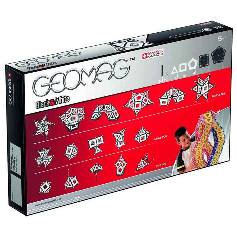 """Магнитный конструктор """"Black & White"""", Geomag"""