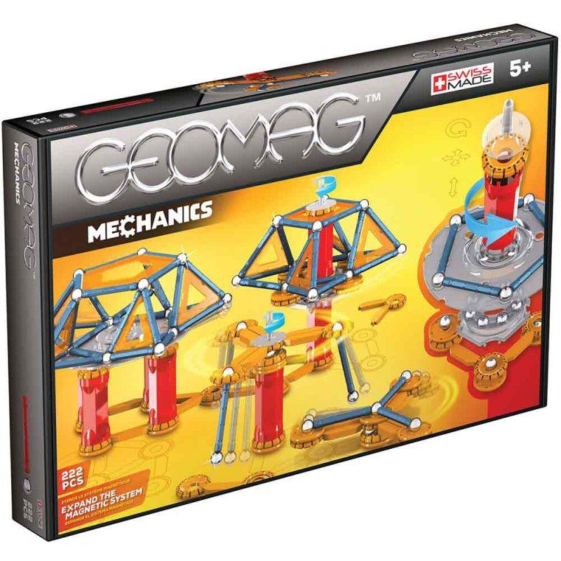 """Магнитный конструктор """"Mechanics"""" 222 деталей, Geomag"""