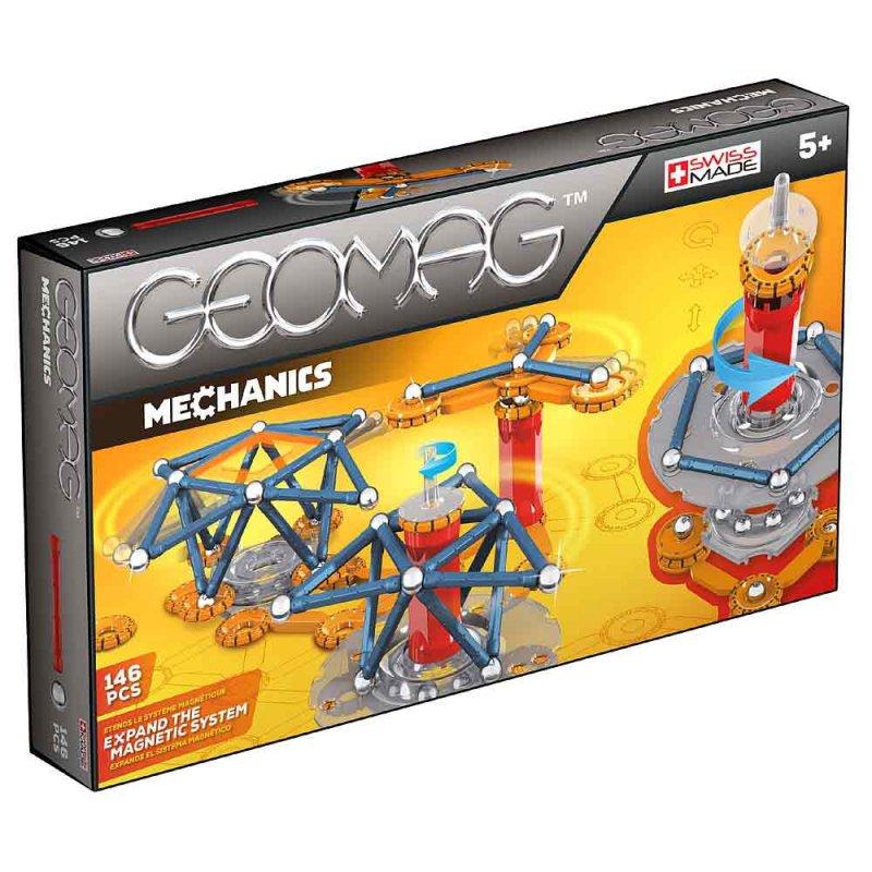 """Магнитный конструктор """"Mechanics"""" 146 деталей, Geomag"""