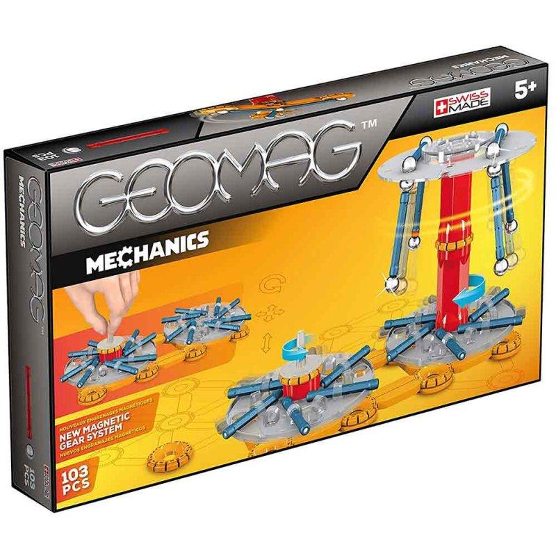 """Магнитный конструктор """"Mechanics"""" 103 детали, Geomag"""