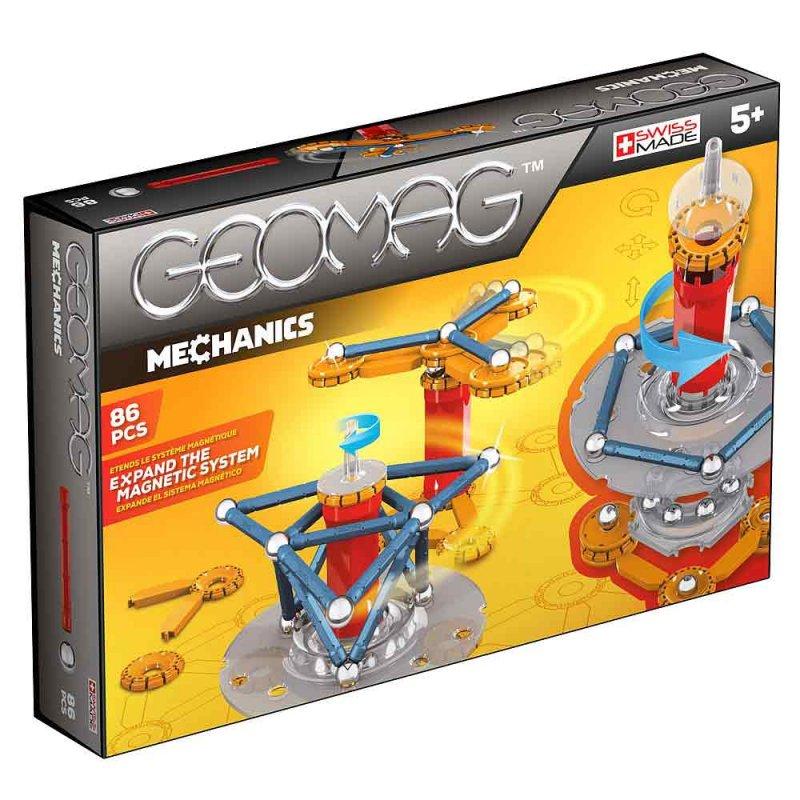 """Магнитный конструктор """"Mechanics"""" 86 деталей, Geomag"""