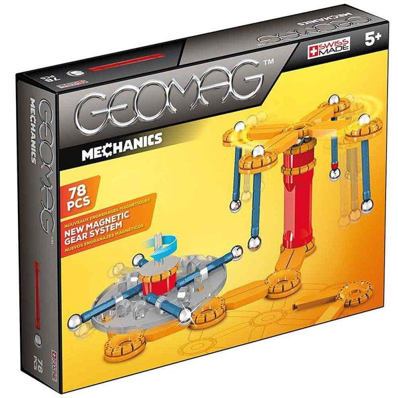 """Магнитный конструктор """"Mechanics"""" 78 деталей, Geomag"""