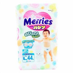 Трусики-подгузники Merries L (9-14 кг)