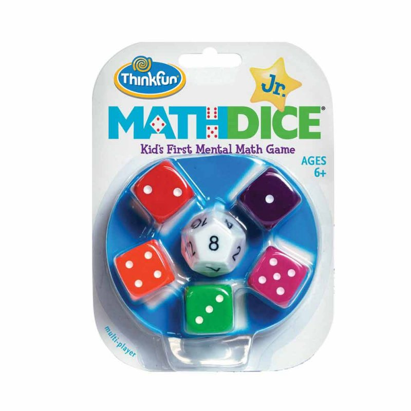 "Игра-головоломка ""Математические кубики"", ThinkFun"
