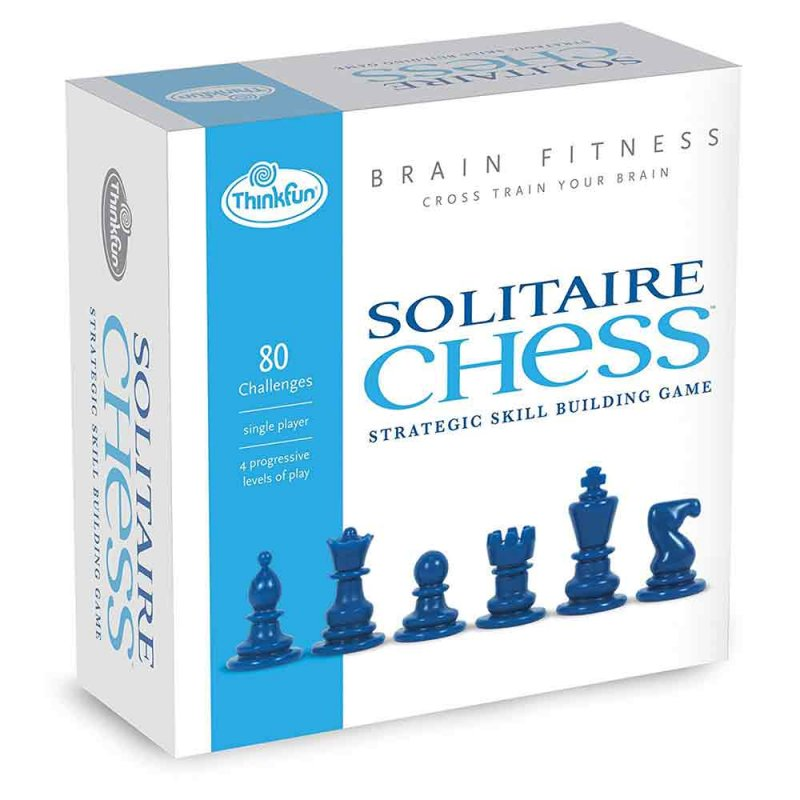 "Игра-головоломка ""Шахматный пасьянс фитнес для мозга"", ThinkFun"