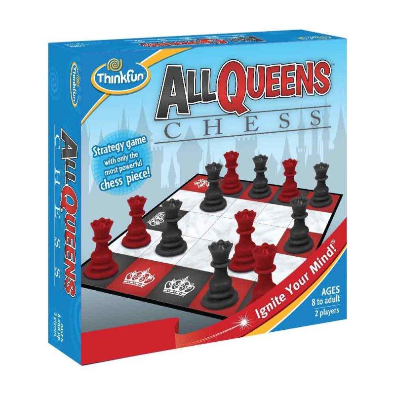 """Игра-головоломка """"Шахматные королевы"""", ThinkFun"""