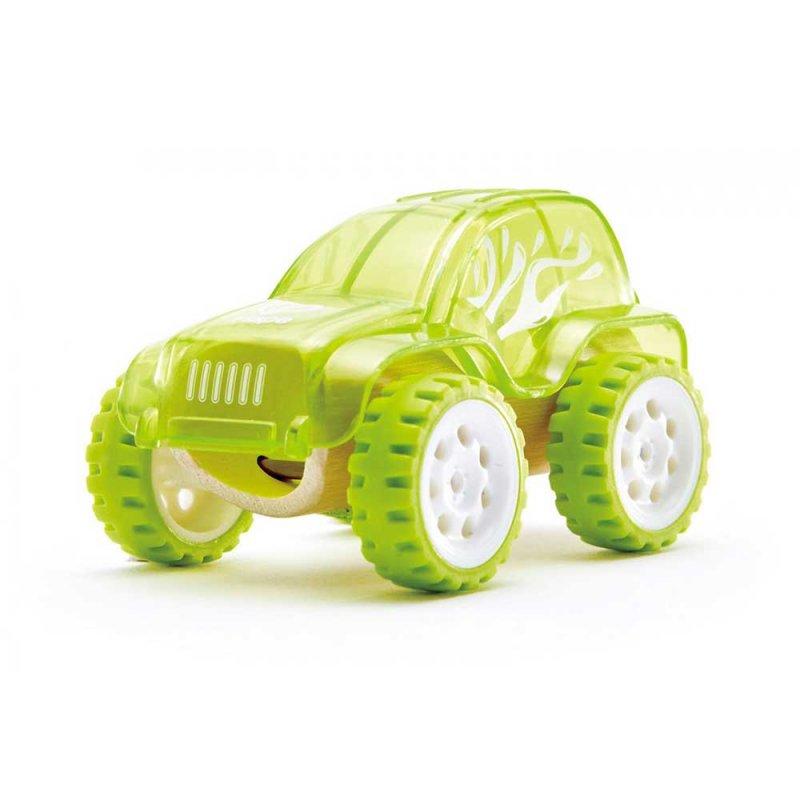 "Машинка из бамбука ""Trailblazer"", Hape"