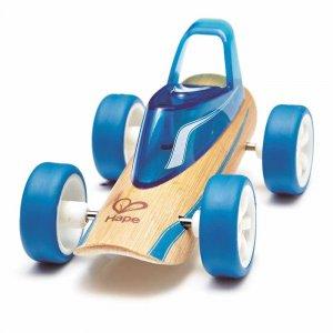 "Машинка из бамбука ""Roadster"", Hape"