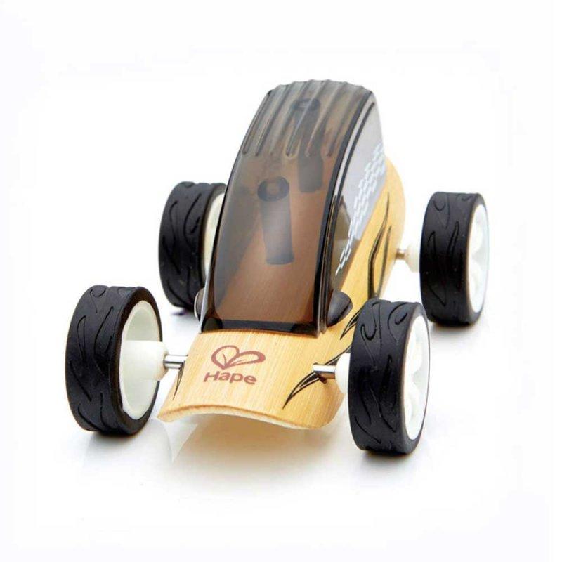 "Машинка из бамбука ""Low Rider"", Hape"