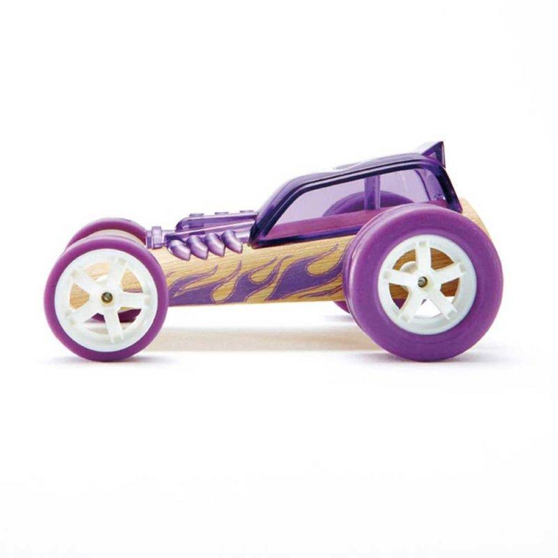 "Машинка из бамбука ""Hot Rod"", Hape"