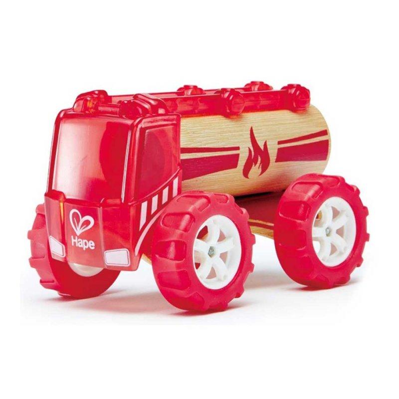 "Машинка из бамбука ""Fire truck"", Hape"