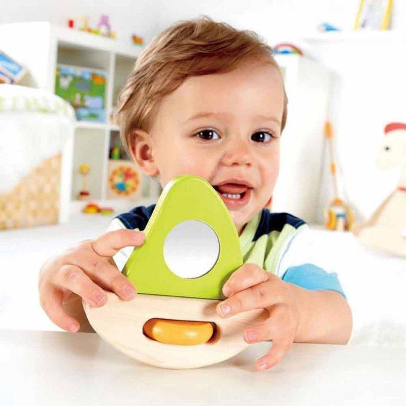 """Деревянная игрушка """"Little Sailboat"""", Hape"""