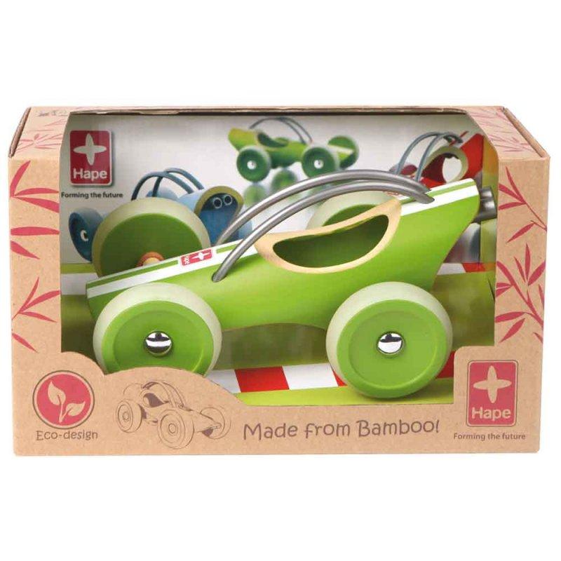 "Машинка из бамбука ""E-Racer"", Hape"