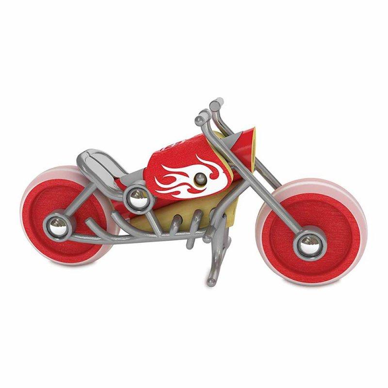 "Мотоцикл из бамбука ""E-Chopper"", Hape"