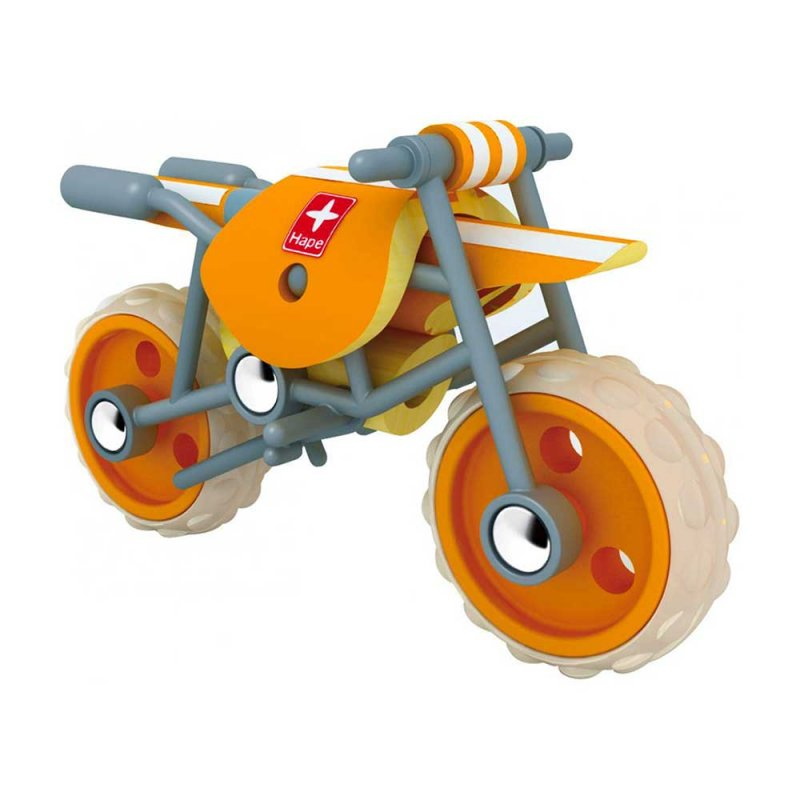 "Мотоцикл из бамбука ""E-Moto"", Hape"