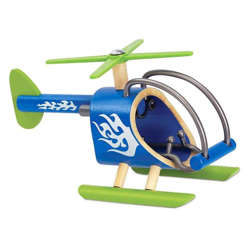 """Вертолет из бамбука """"E-Copter"""", Hape"""