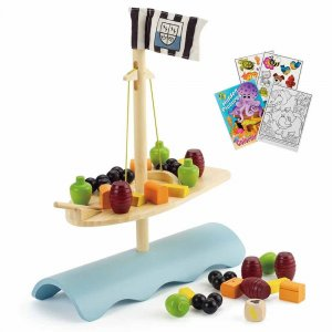 "Деревянная игрушка-балансир ""Stormy Seas"", Hape"