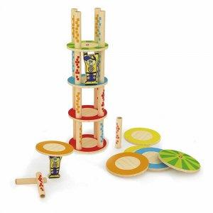 """Деревянная игрушка-балансир """"Crazy Tower"""", Hape"""