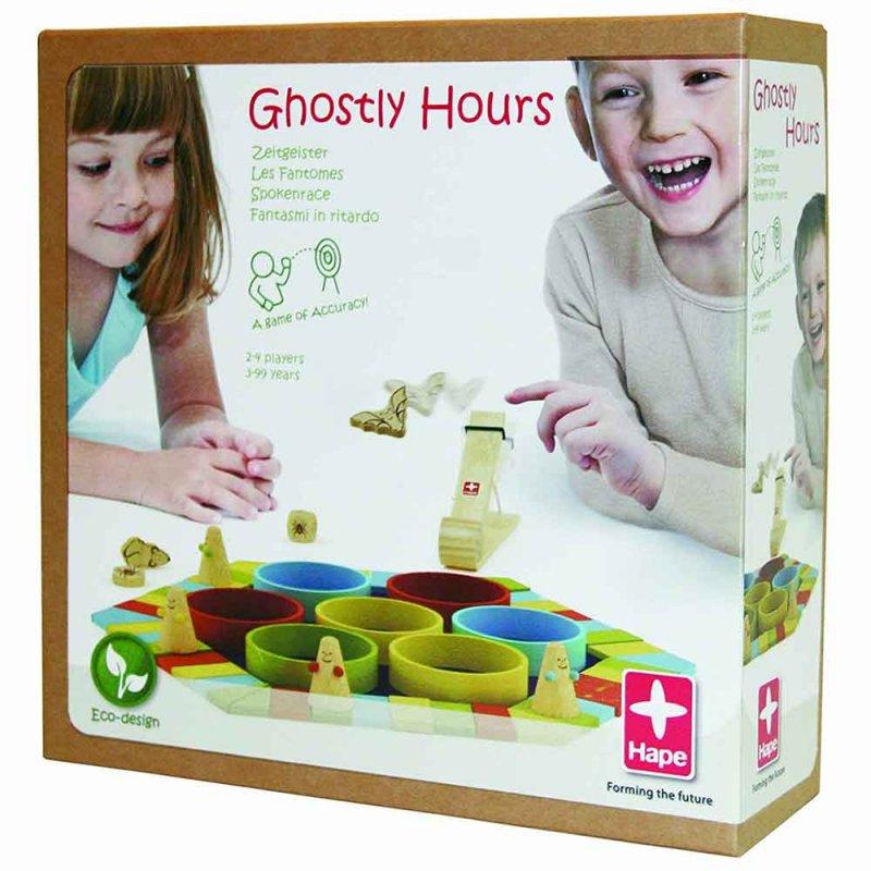 """Деревянная игра """"Ghostly Hours"""", Hape"""