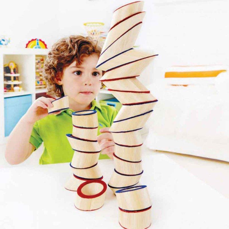 "Деревянная игрушка-балансир ""Totter Tower"", Hape"