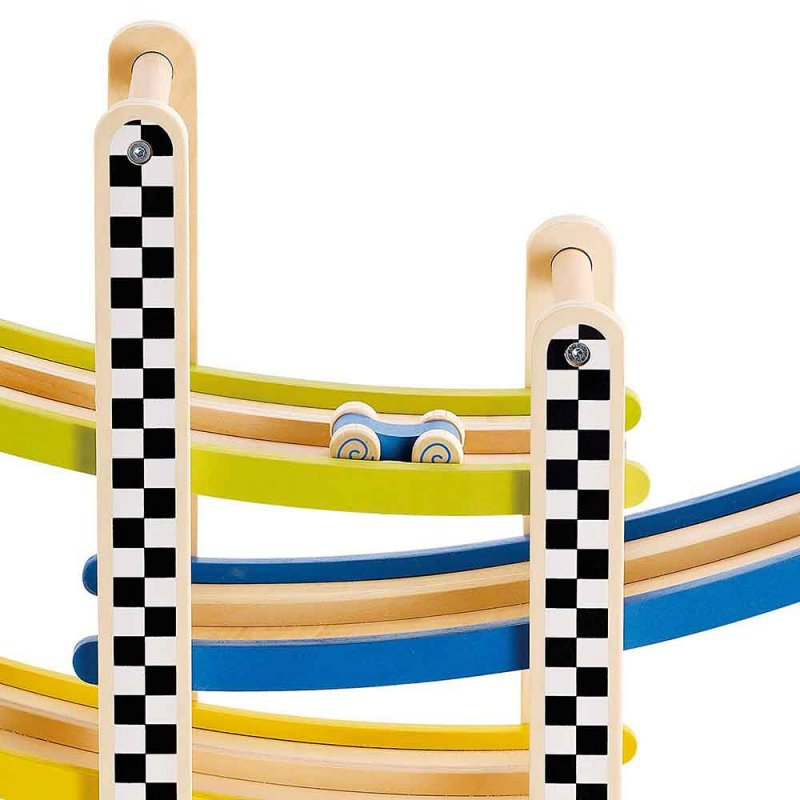 """Деревянная игрушка """"Switchback Racetrack"""", Hape"""