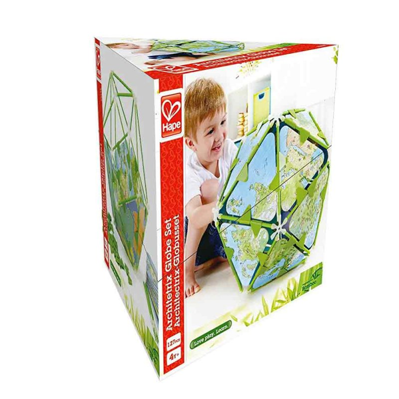 """Деревянная игрушка-головоломка """"Architetrix Globe Set"""", Hape"""