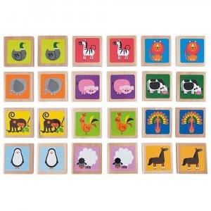 """Деревянная игрушка """"Animals Memo Game"""", Hape"""