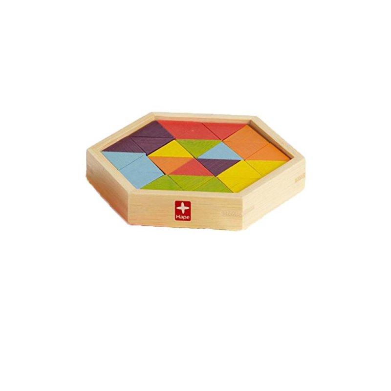 """Деревянная игрушка-головоломка """"Mixed Puzzles"""", Hape"""