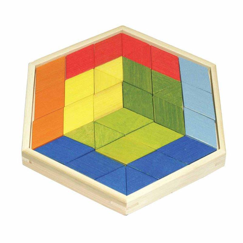 """Деревянная игрушка-головоломка """"Prism Puzzle"""", Hape"""
