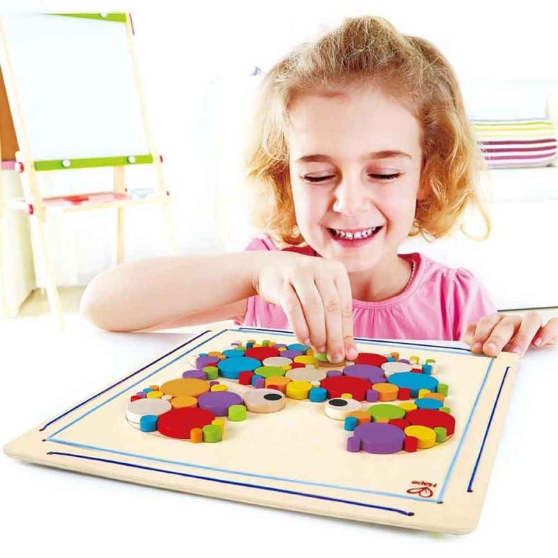 """Деревянная игрушка-головоломка """"Crabby Mosaic Kit"""", Hape"""