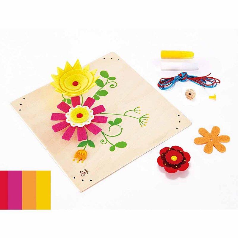 """Деревянная игрушка """"Flower Fun"""", Hape"""