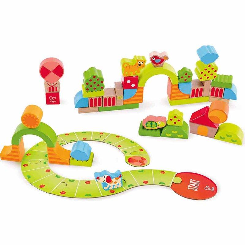 "Деревянная игрушка-балансир ""Sunny Valley Play Blocks"", Hape"