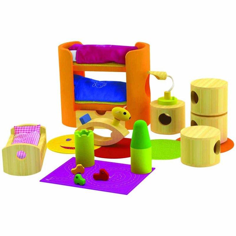 """Деревянная игрушка """"Набор мебели Trendy Nursery"""", Hape"""