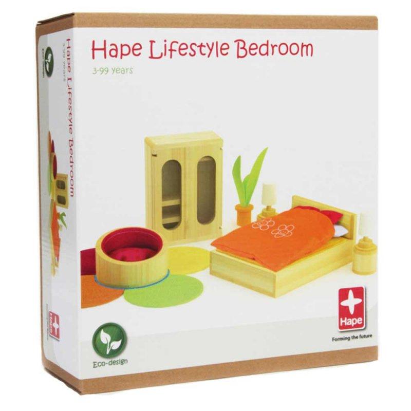 """Деревянная игрушка """"Набор мебели Lifestyle Bedroom"""", Hape"""