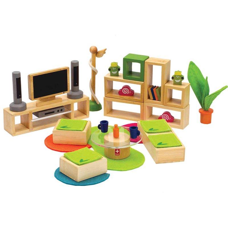 """Деревянная игрушка """"Набор мебели Lifestyle Living Room"""", Hape"""