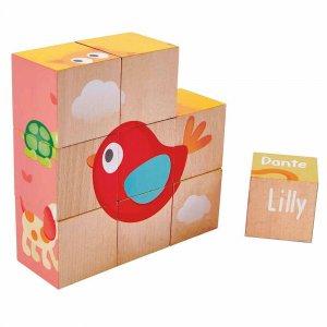 "Деревянная игрушка-балансир ""Friendship Puzzle Blocks"", Hape"