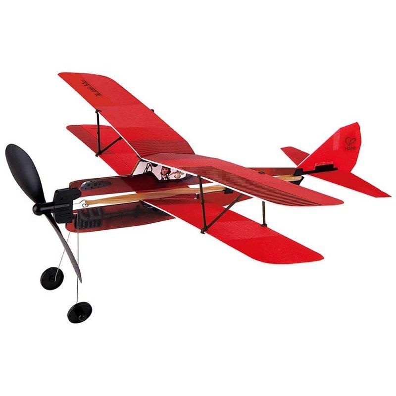 """Деревянный самолет """"Adventure Plane"""", Hape"""