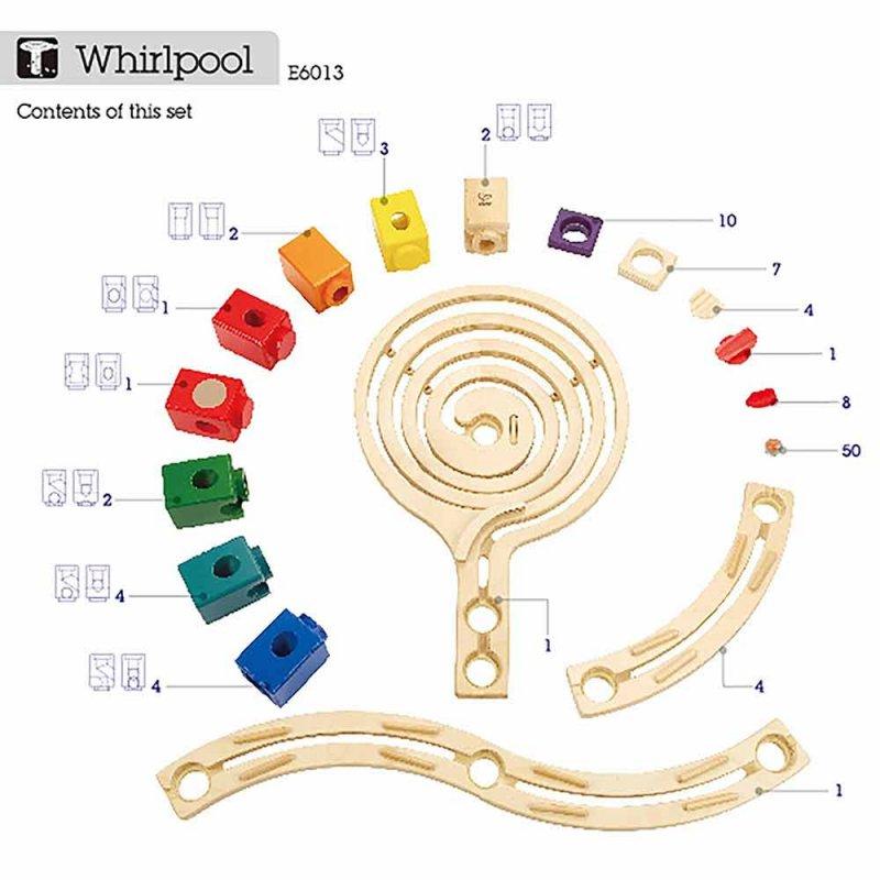 """Деревянный конструктор-головоломка """"Whirlpool"""", Hape"""