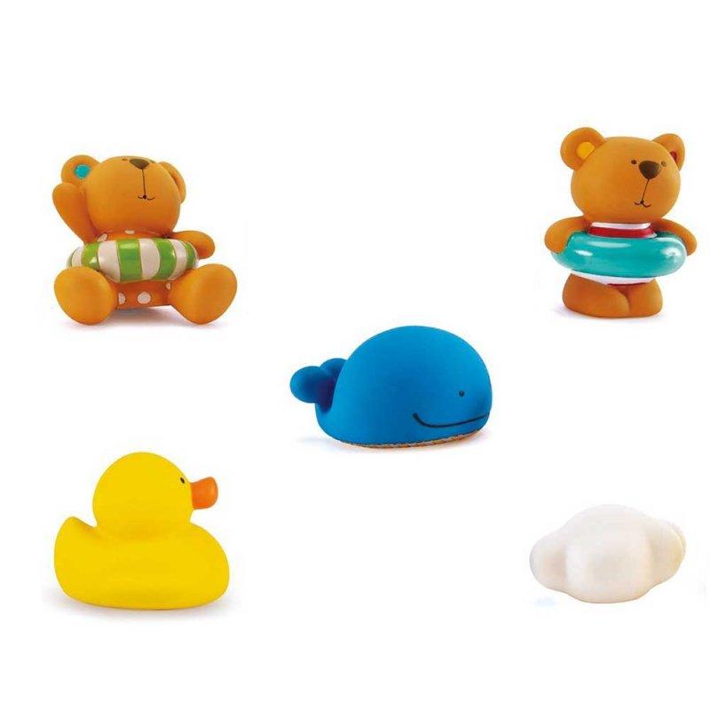 "Игрушка для ванной ""Teddy and Friends Squirts"", Hape"