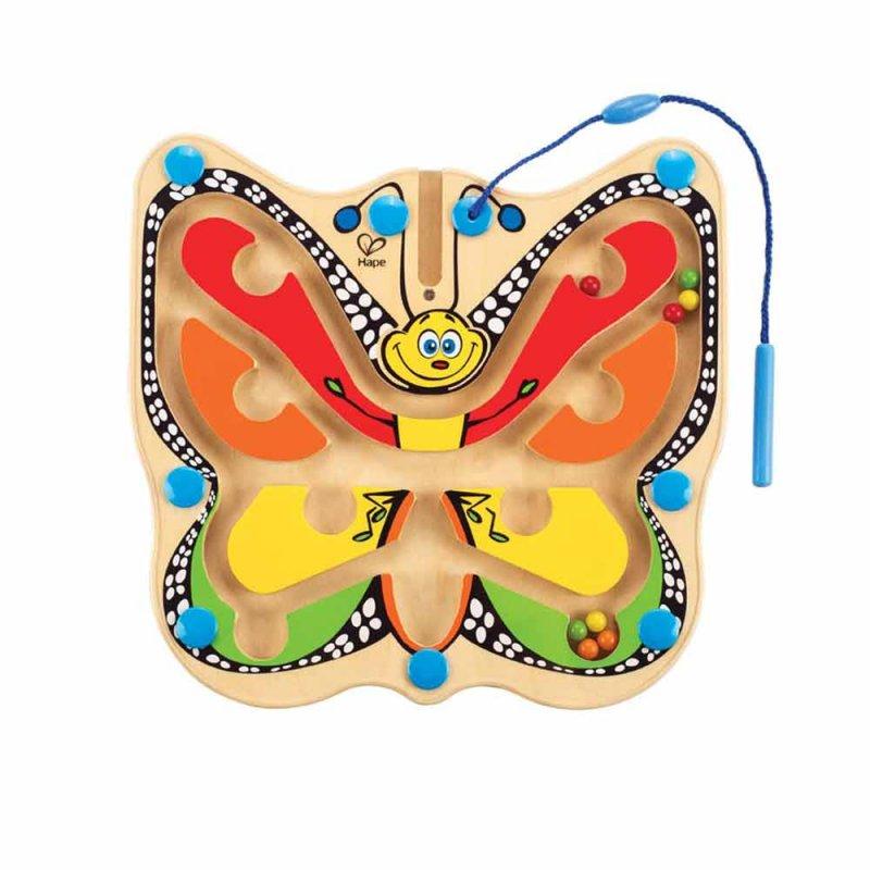 """Деревянная игрушка-головоломка с магнитами """"Бабочка"""", Hape"""
