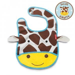 "Слюнявчик ""Жираф"",Skip Hop"