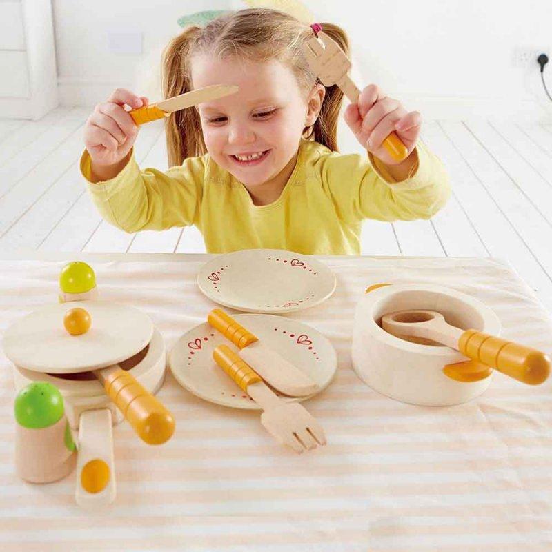 "Набор посуды для кухни ""Lunch Time Picnic Set"", Hape"