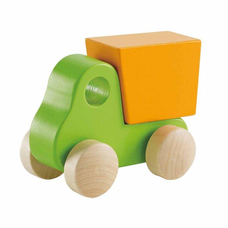"Деревянный самосвал ""Little Dump Truck"", Hape"