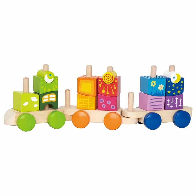 "Паровозик с кубиками ""Fantasia Blocks Train"", Hape"