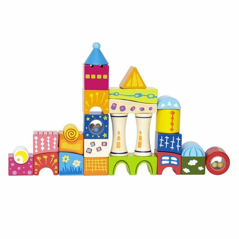 "Замок из кубиков ""Fantasia Blocks Castle"", Hape"